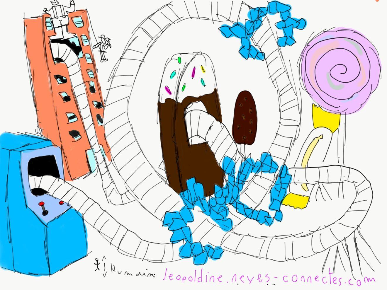 Roller Coaster Les Mondes de Ralph