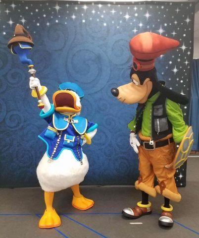 Mickey et Donald Kingdom Hearts