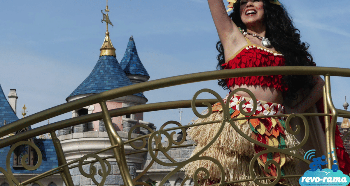 Le Revo-Rama au Festival Pirates et Princesses et à l'Auberge de Cendrillon de Disneyland Paris (vidéo)