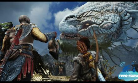 Revo-Rama God of War sur Playstation 4 (vidéo).