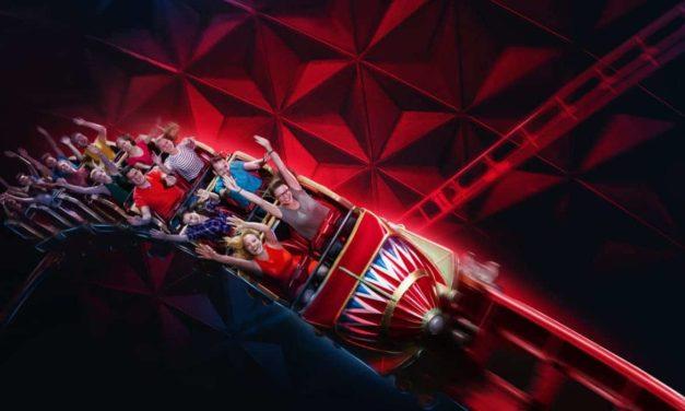 Du nouveau à Europa Park ! Inauguration de la nouvelle attraction CanCan Coaster dans le quartier français.
