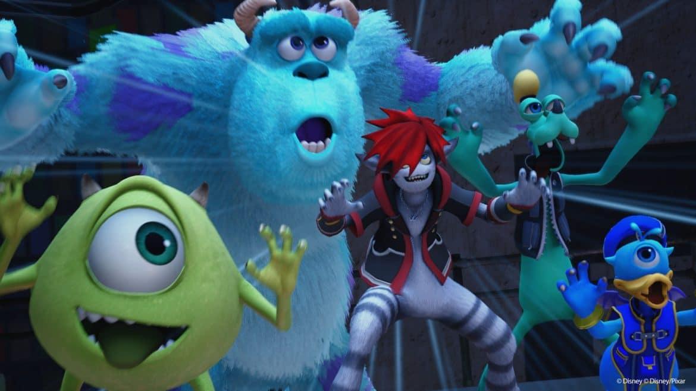 Kingdom Hearts 3 - Monstres et Cie