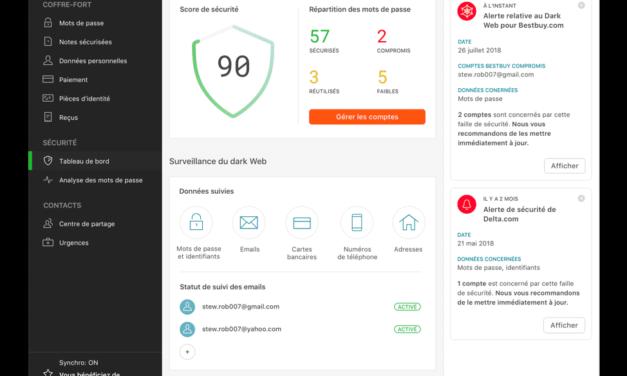 Dashlane VS Trousseau iCloud qu'en est-il de la sécurité de vos mots de passe ?