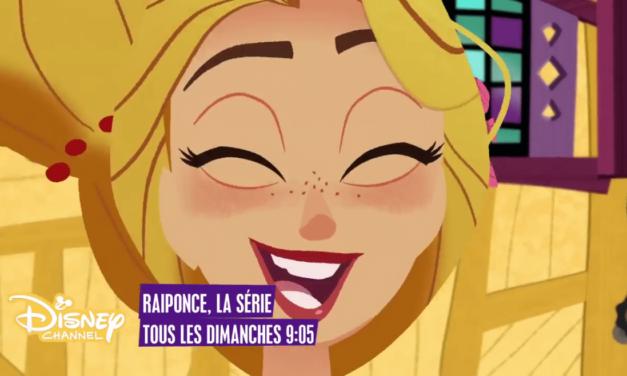 Place au rêve et à la magie avec la saison2 de la série Raiponce sur Disney Channel! Notre avis. #DreamBigPrincess