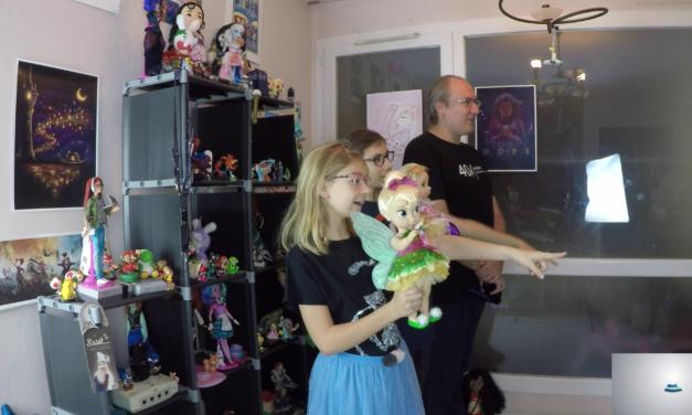 Revo-Rama Collection de poupées : Disney Attractionistas, Animator, Spéciales, Designer et Collector (vidéo)