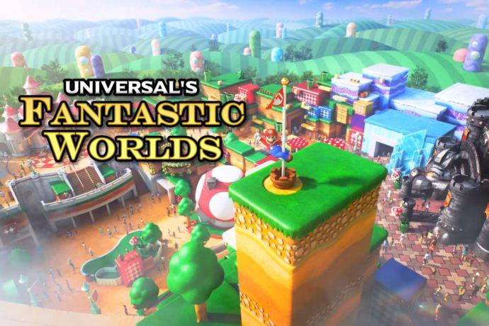 4ème parc à thème Universal de Floride, du Super Nintendo World aux UNIVERSAL'S FANTASTIC WORLDS ?!