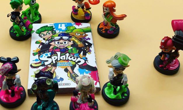 Découvrez les manga Splatoon, Mario, Zelda Twilight Princess et le recueil Art of Splatoon