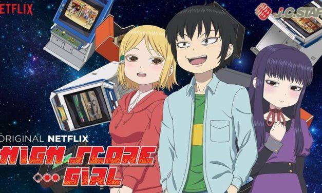 High Score Girl : 3 OAV déjà annoncées pour le nouveau japanimé de Netflix qui devrait plaire aux (retro)gamers et nostalgiques des années 80/90.