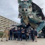 Notre séjour en compagnie du Dragon de Calais (vidéo)
