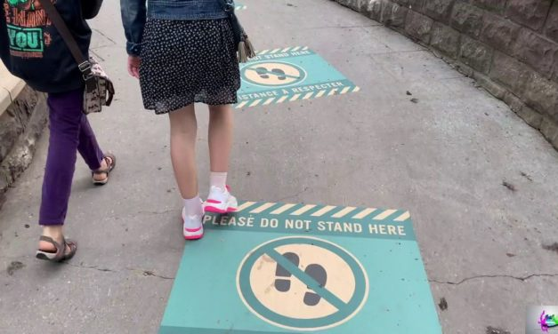Disneyland Paris pendant la crise sanitaire du COVID19 c'est comment ? (vidéo)
