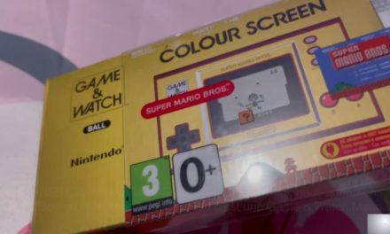 Test de la Game & Watch Super Mario Bros. (vidéo)