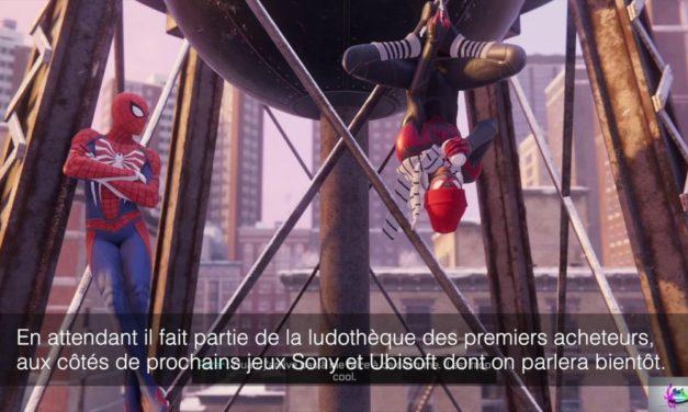 Test de Marvel's Spiderman: Miles Morales sur Playstation 5 (vidéo)