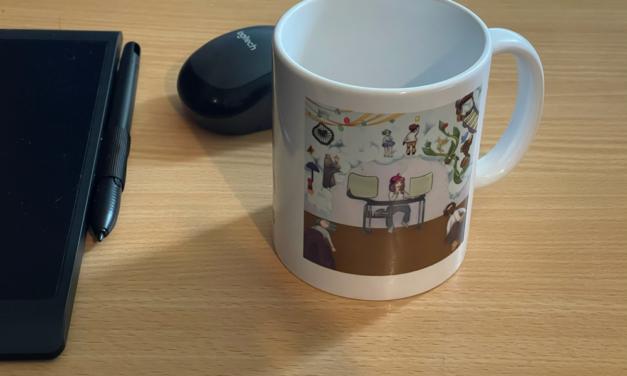 Le livret et le mug du Revoscope !