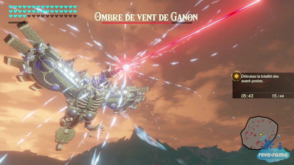 Hyrule Warrior L'ère du Fléau. Ombre de vent de Ganon.