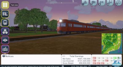 Pour les Ferrovipathes : A-Train: All Aboard! Tourism sur Ni...