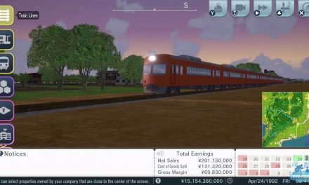 Pour les Ferrovipathes : A-Train: All Aboard! Tourism sur Nintendo Switch
